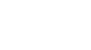 Flat White Full Logo White